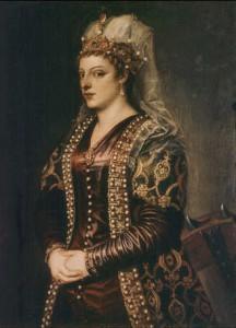 Portrait_of_Caterina_Coronaro_1542_uffizi_florence_Titian