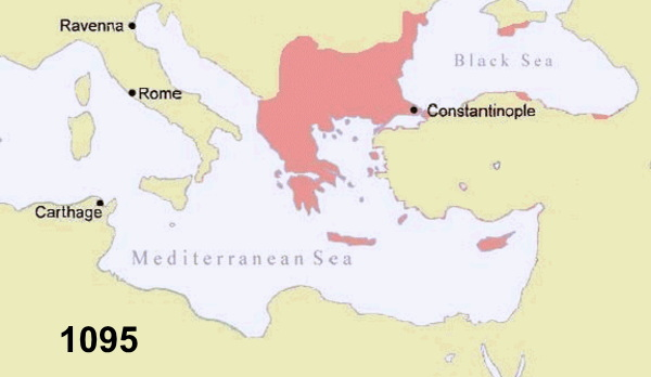 イスラム圏の拡大と十字軍 :: 旅...