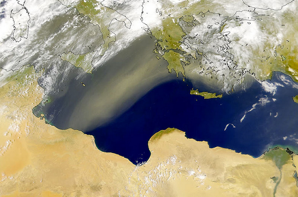 シロッコ砂嵐
